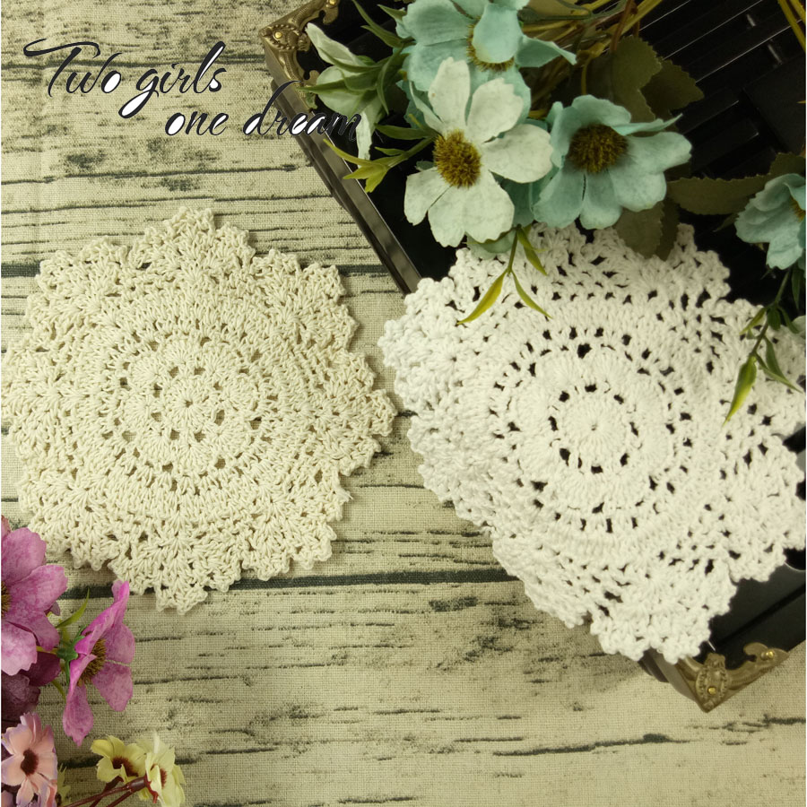 Objective Modern Cotton Placemat Cup Coaster Mug Kitchen Christmas Dining Table Place Mat Cloth Lace Crochet Tea Coffee Doily Dish Pad Home & Garden Tablecloths