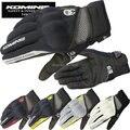 Envío gratis komine gk 163 de primavera y verano guantes de moto transpirable seco guantes racing guantes de malla 3D táctil teléfono móvil