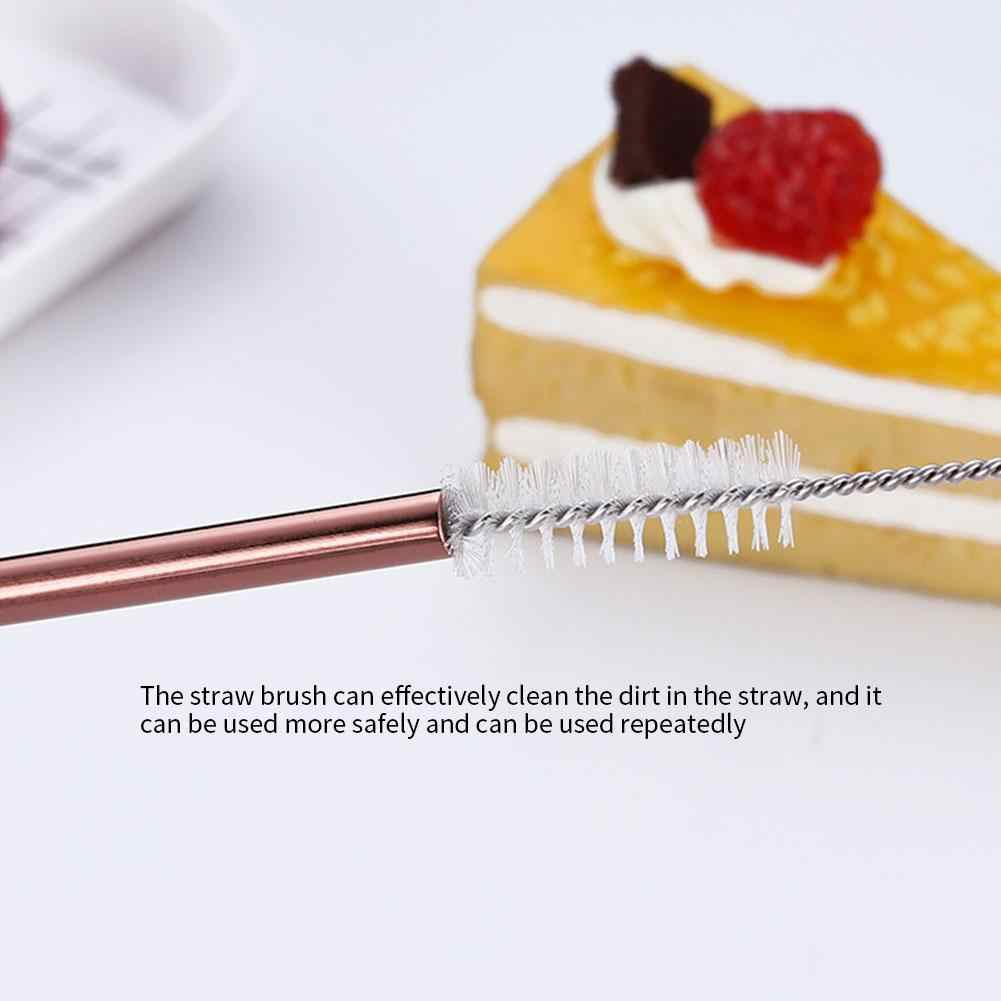 食器セット旅行キャンプカトラリーセット再利用可能な銀器金属わらスプーンフォーク箸ポータブルケース食器セット #