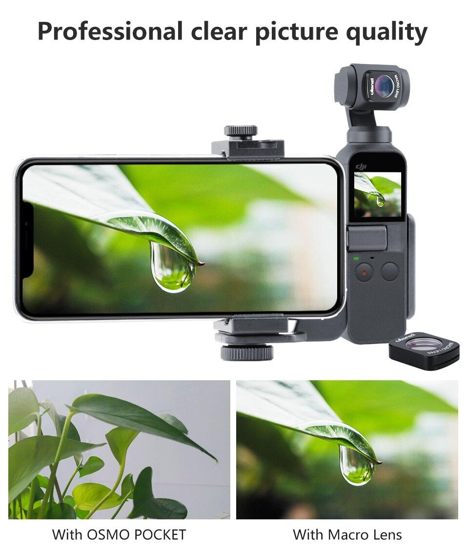 osmo pocket camera lens