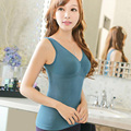 7 cores seamless corset shapers underwear sexy mulheres body slimmer camisole tanques 100 pcs