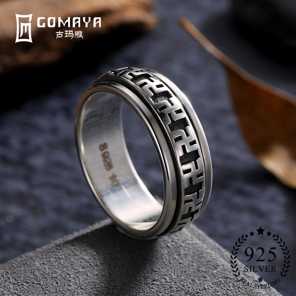 gomaya 100 original 925 sterling silver rings