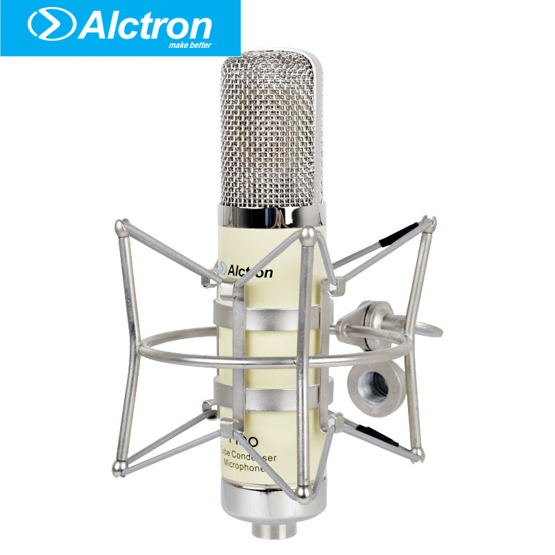 Alctron T190 Professional Large Diaphragm Tube Condenser Studio Microphone, Pro tube recording condenser mic.
