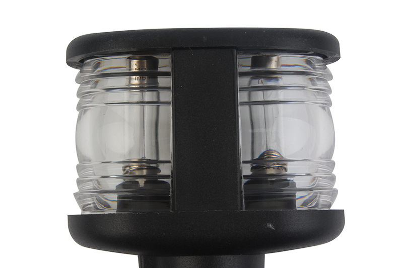 Image 3 - 12V Marine Boat LED Navigation Light All Round 360 Degree Warm White Anchor Lamp Fold Down Masthead Light-in Marine Hardware from Automobiles & Motorcycles
