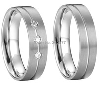 custom mens and womens health titanium wedding ring band couples engagement ring sets
