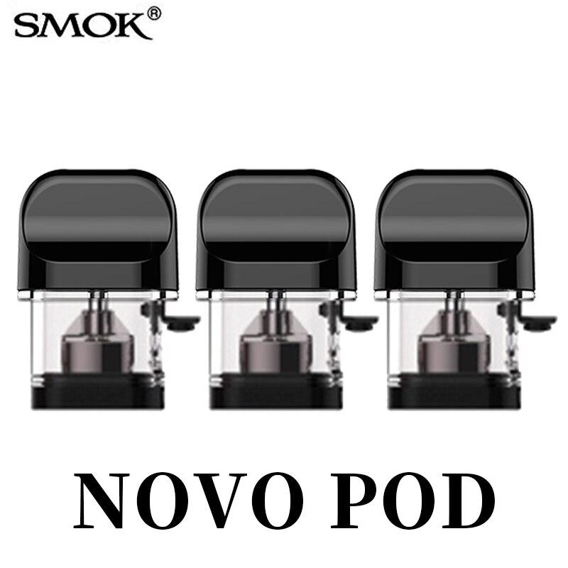 Vape SMOK NOVO POD 2ml Capacity Electronic Cigarette Atomizer Vaporizador Cigarro Eletronico Vaporizador S8076
