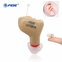 Invisible Hearing Aids Machine Enhancer Portable Mini Small inner Ear Best Sound Amplifier Digital Hearing Aid with FDA CE S 9A