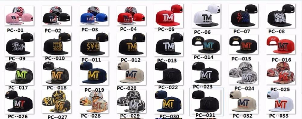 7b2e6a24 2015 Fashion Mayweather Boxing King TMT Caps Hip Hop Hat Black ...