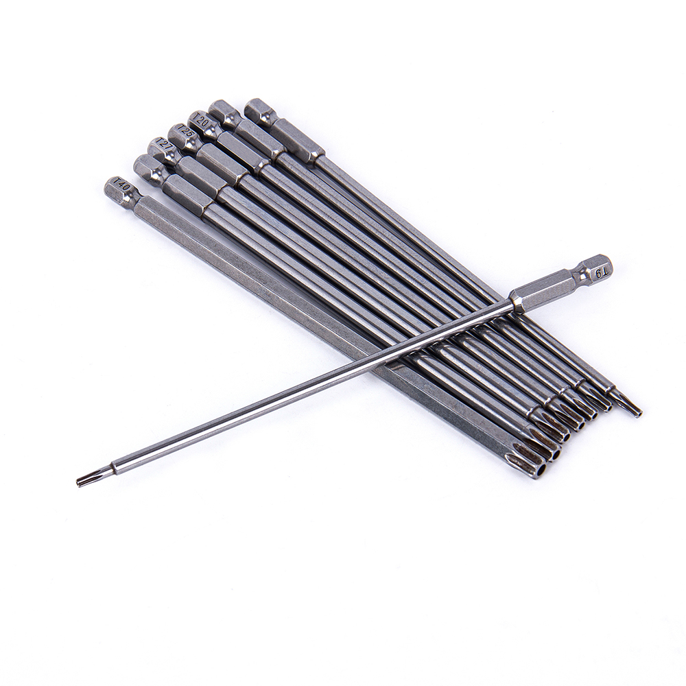 Hakkin 150mm 8db S2 acél Hex Torx fejfúró csavarhúzó készlet - Kézi szerszámok - Fénykép 3