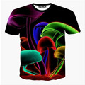 Men's Fashion 3D Animal Creative T-Shirt, Finger/flash/crow/monkey 3d printed short sleeve T Shirt ,Free Shipping