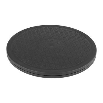 360 ° 10 #8221 obrotowy platformy gramofon podstawa z połączeniem obrotowym stojak na monitor z tunerem TV gorąca do obróbki drewna ławki tanie i dobre opinie 1241600