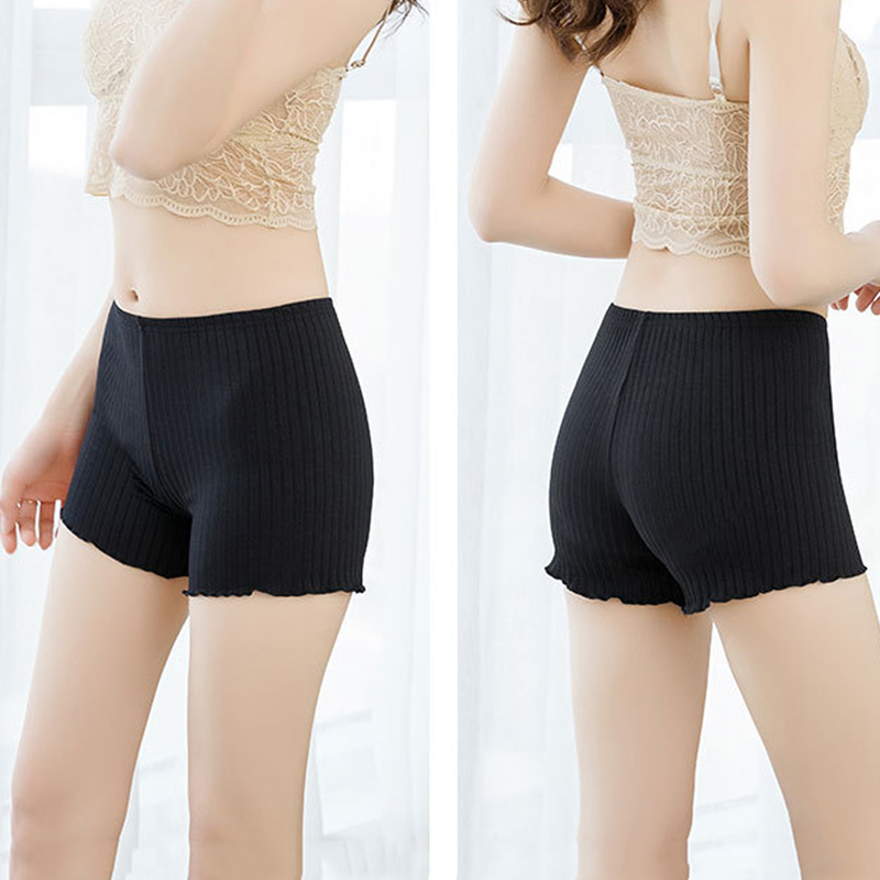 Sexy Women Soft Cotton Seamless Short Pants Summer Quality Under Skirt Shorts Polyester Breathable Short New