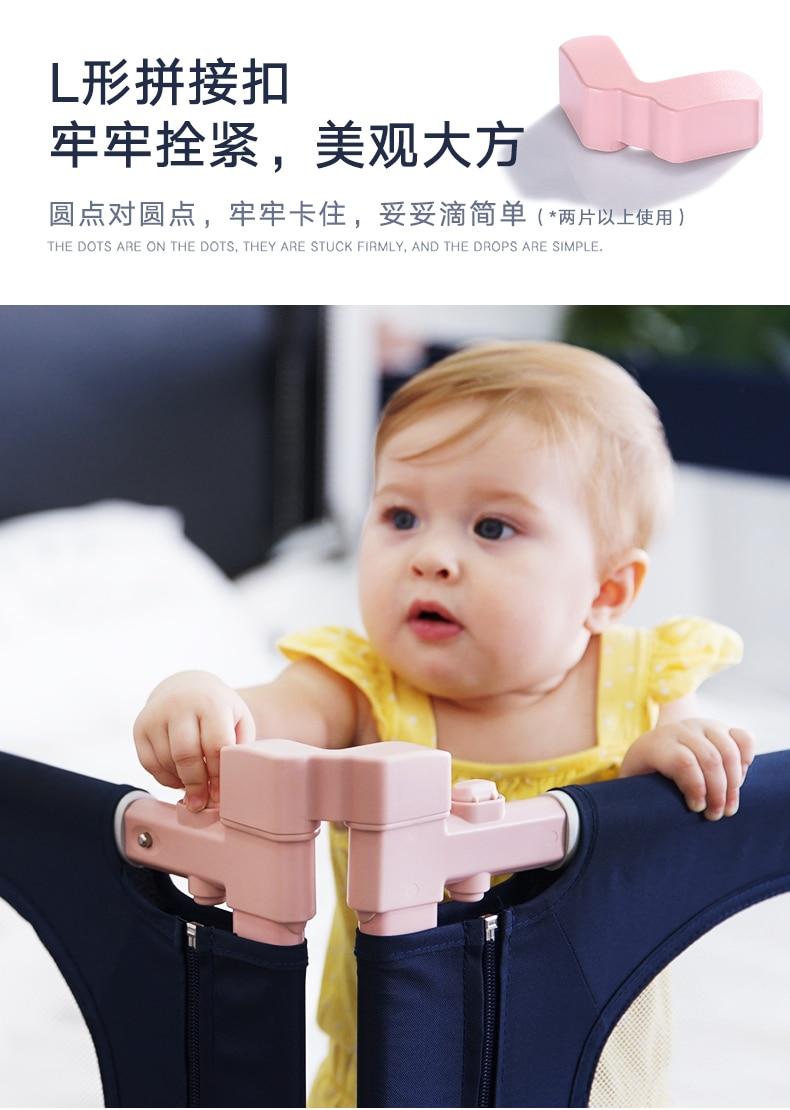 Bebê cama de bebê cerca criança corrimão