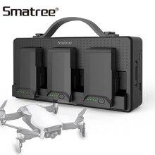 Зарядное устройство Smatree для DJI Mavic Air, аккумуляторные батарейки для сотового телефона, пульт дистанционного управления iPad, 14250 мАч, зарядная станция, 3 аккумулятора