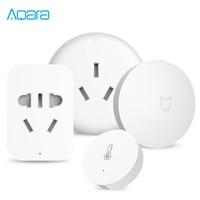 Xiaomi Aqara Mijia Smart Home Temperature Control Conditioner Controller Temperature Humidity Sensor 2 4G ZigBee Wireless