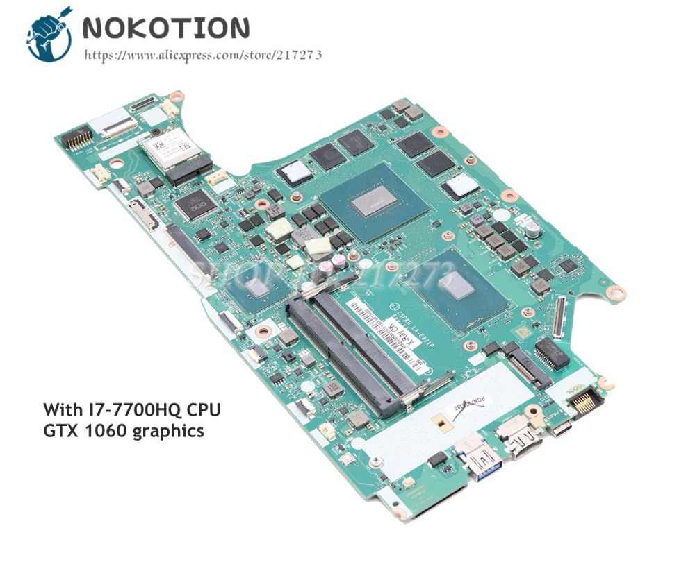 NOKOTION Brand NEW For Acer A715 71G Laptop Motherboard GTX