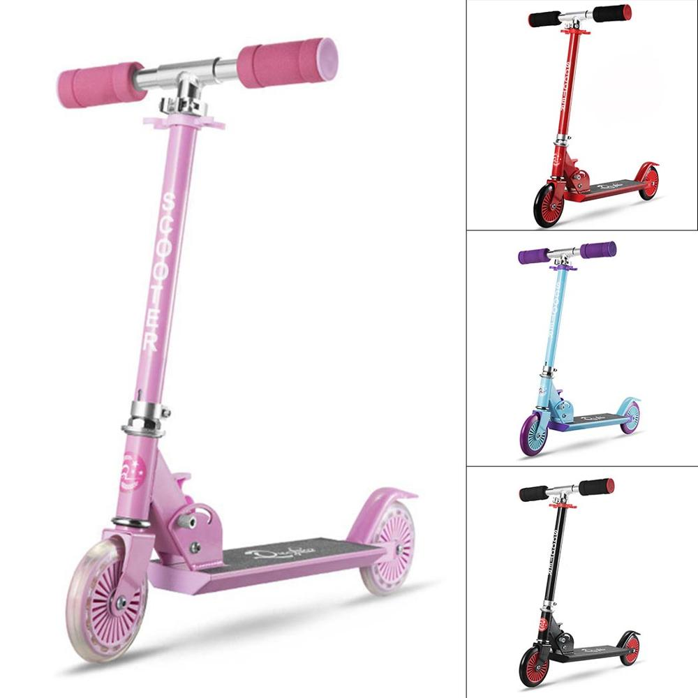 ANCHEER Adjustable Height Kick Scooter Aluminum Alloy Children Foot Scooter Folding Kids Scooters Gifts Patinete for Boys Girls thumbnail