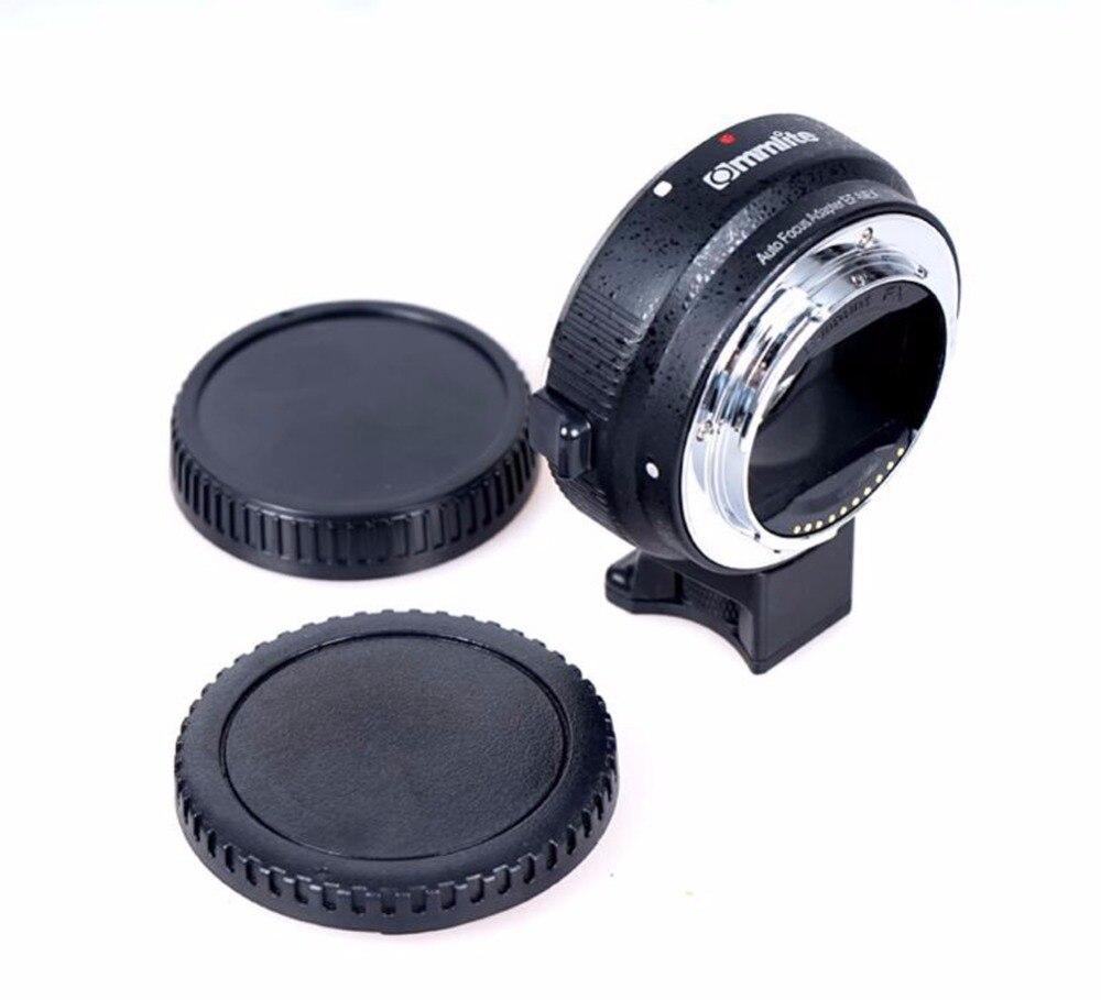 Commlite EF-NEX адаптер объектива с автоматической фокусировкой для Canon EOS EF EF-S объектив sony E NEX полный кадр A7 A7R A7SII A7RII A6300 A6000 NEX-7