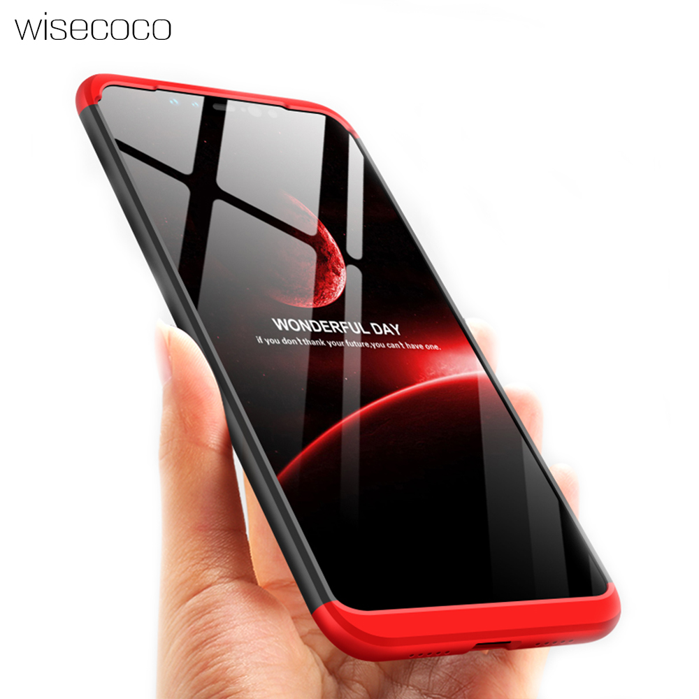 Original Hard PC Case For <font><b>Xiaomi</b></font> Mi 8 SE Armor 3in1 Back Cover 360 Degree Full Protection Phone Bag Cases for xiomi8 mi8se coque image