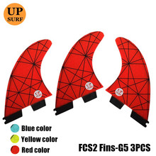 FCSII G5 M Size Surfboard Honeycomb Fins Tri fin set FCS 2 Fin Hot Sell II Quilhas upsurf logo