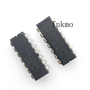 Image 1 - 100PCS LM339N DIP 14 LM339 DIP Quad Single Supply Comparators new and original IC