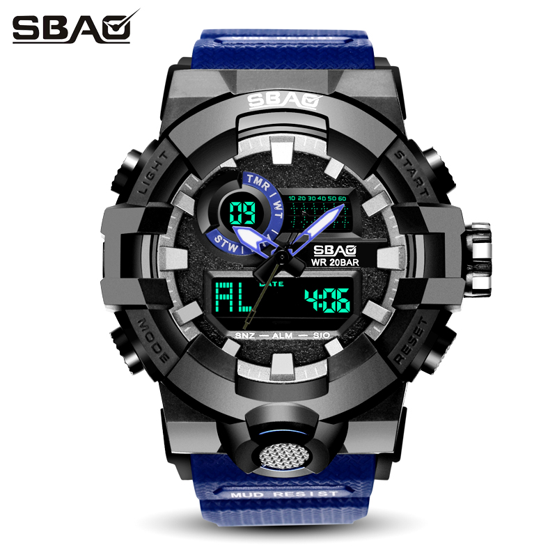 TOP BRAND LED Display Men Sport Watch Male Digital Wristwatch Daily Alarm Boys Calendar Water Resistant Shock Resistant