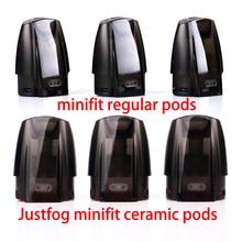 JUSTFOG Minifit Pod 3 единицы для JUSTFOG minifit стартовый комплект аксессуары для электронных сигарет