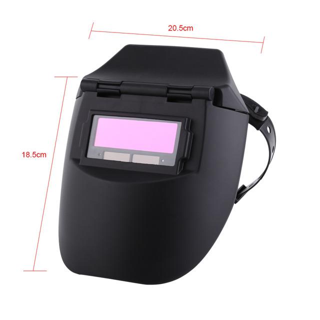 Tig Mig Welder Welding Mask Lenses Solar Powered Cap For SolderingNew Welding Helmet/Mask of Auto Darkening