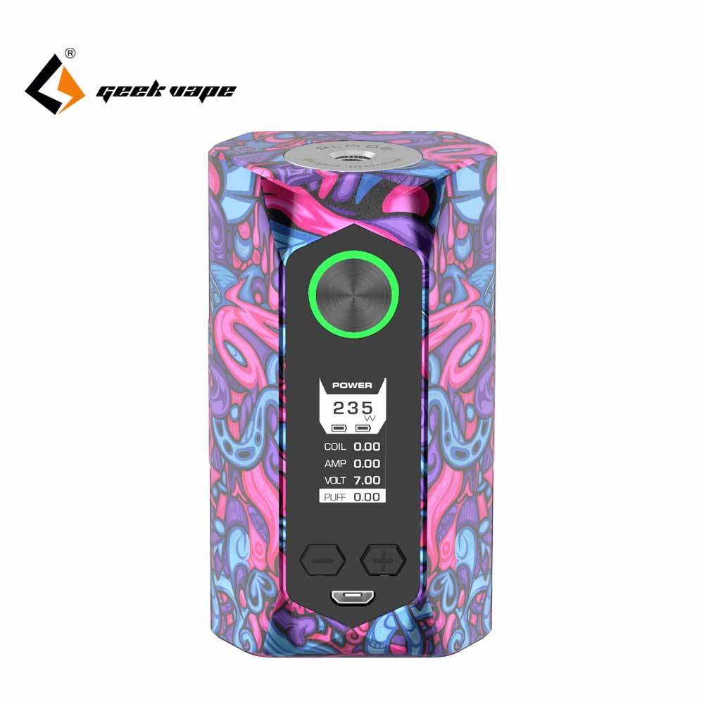 Original Geekvape Blade mod 235W with aircraft grade material Blade Box MOD Support 18650 20700 21700 Battery vs smoant cylon