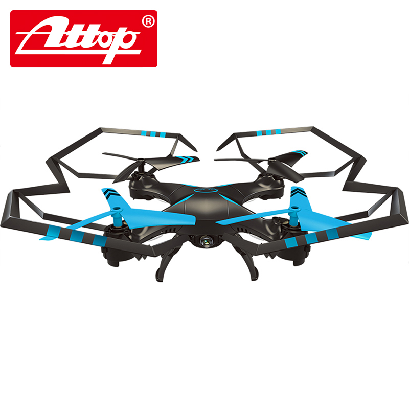 Attop A25C A four axis aircraft with a camera Parent-child toys Soar the blue sky The best gift  remote control toy multi function parent child play toys fishing electric toys blue pink