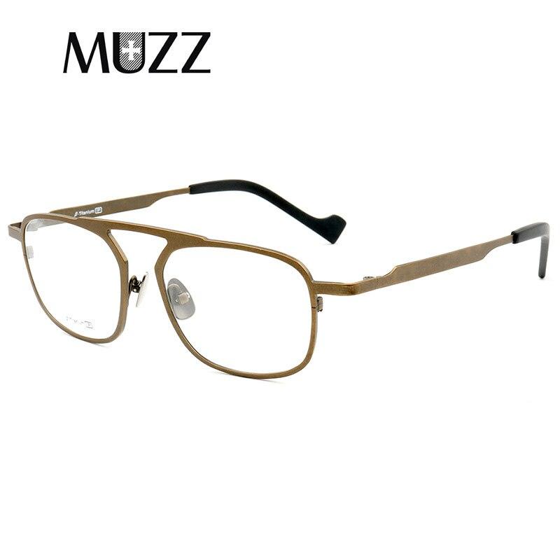 Titane pur lunettes de Prescription cadre nouveau mâle lunettes hommes myopie lunettes marque Designer lunettes lunettes lunettes