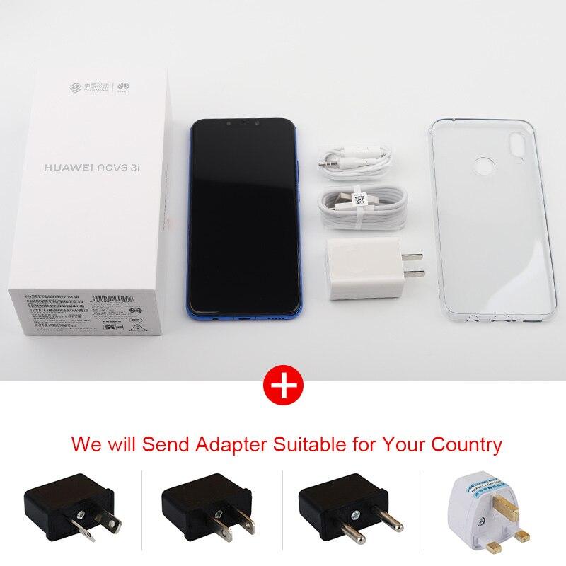 🛒 Global Firmware Huawei P Smart Plus Nova 3i 4G Smartphone