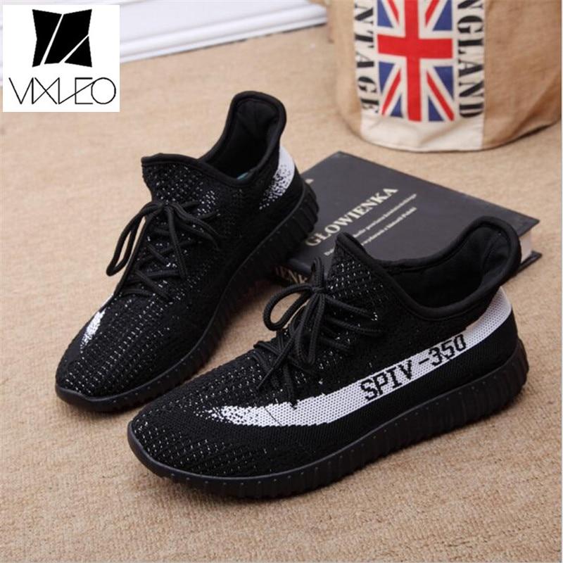 VIXLEO 2018 Pria Bernapas V2 Kasual Sepatu pecinta sepatu jala merek - Sepatu Pria - Foto 5