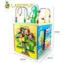 Schatz Box Draht Um Die Perlen Gepaart 3 Jahre Alt Kinder Baby Kinder Frühe Bildung Puzzle Holzspielzeug für Kinder