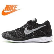 Official Authentic Nike FLYKNIT LUNAR 3 Men's Mesh Light Running Shoes
