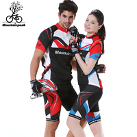 Mountainpeak Spring and Summer Eagle Riding Bike Running Wear Short Sleeved Bicycle Suit T shirt Pants Outdoor Sport Set