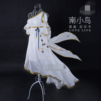 2018 Новый LoveLive! Аркады поздравительную открытку Созвездие Котори минами платье белые нарядные Маскарадный костюм платья полные комплекты