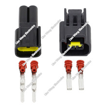 5 Sets 2 Pins 2.3 Series Male Female Auto Electrical Connector Plugs DJ7022Y-2.3-11/21 цена и фото