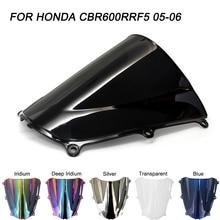 Motorcycle Windscreen Windshield Screws Bolts Accessories For Honda CBR600RR CBR 600RR 2005 2006 Wind Deflectors коллекторная группа royal thermo в сборе с расходомерами 1 вр 3 4 нр 9 выходов нержавеющая сталь rte 52 109
