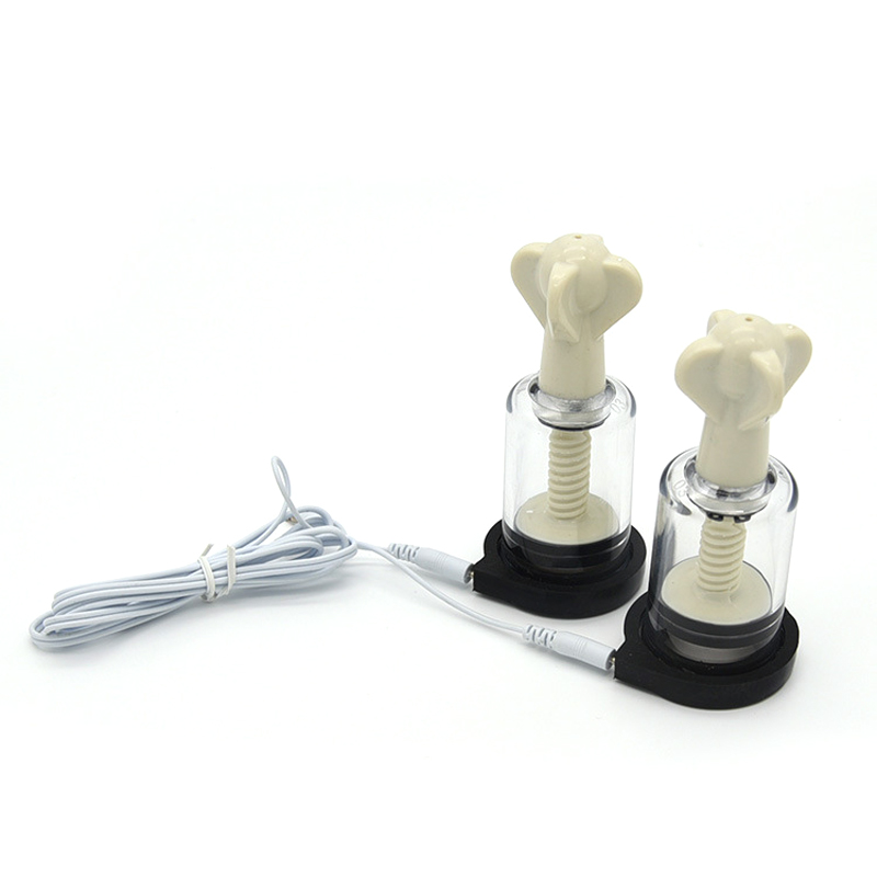 Electric Shock Kit Accessory <font><b>Electro</b></font> Shock Nipple <font><b>Clamps</b></font> Sucker Full Body Massage Medical Themed Toys <font><b>Sex</b></font> Products for Woman Man image
