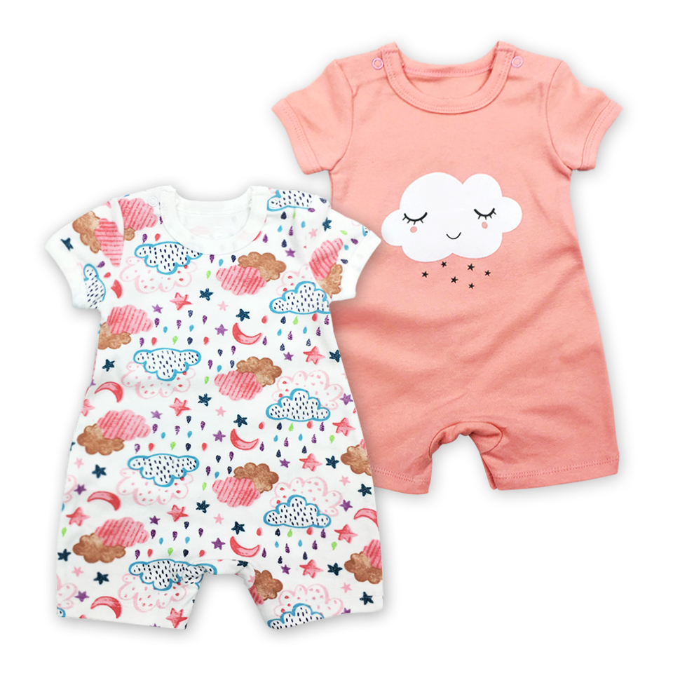 946470bf6 Detail Feedback Questions about New 2018 Summer 100% Cotton Newborn ...