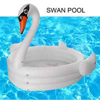 Summer Swan Swimming Pool Inflatable for Adults Baby Kids Water Paddling Pool Bathtub Circles Float Pool Toys Hot Summer