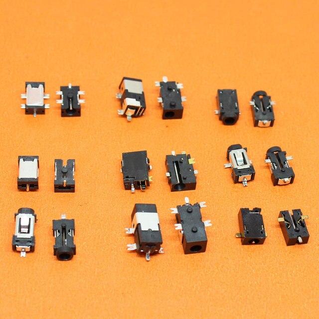 9 نماذج اللوحي جهاز كمبيوتر شخصي تيار مستمر جاك تيار مستمر 2.5*0.7 0.7 مللي متر موصل الطاقة