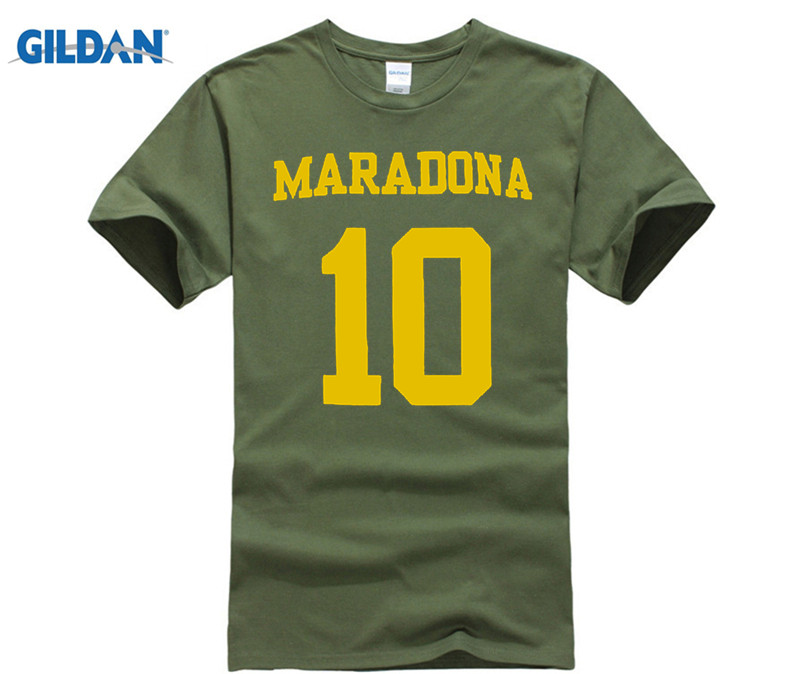 buy popular c6dcf 3ce61 Diego Maradona Boca Juniors Legend Hero T-Shirt