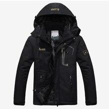 남자의 겨울 벨벳 파카 재킷 플러스 크기 6XL 후드 윈드 브레이커 남자 2020 따뜻한 두꺼운 파카 패딩 코트 남여 패션 아웃웨어
