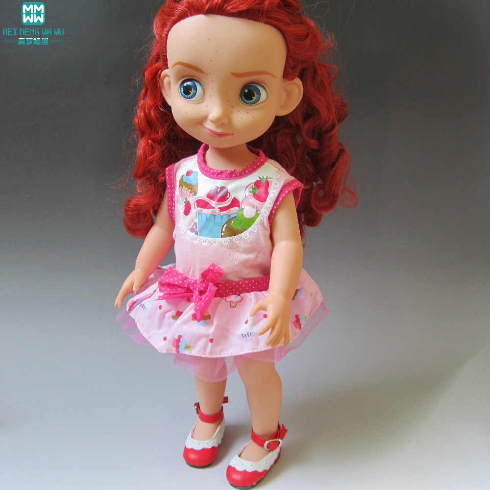 Clothes for dolls fits 40cm Salon dolls Print dress New store special promotions