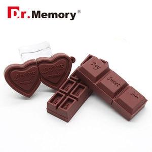 Image 5 - Funny USB Flash Drives 16GB Chocolate Cookies Cute Pendrive 64GB 8GB Memory Stick Pen Drive 32GB I Flash Disk 4GB Storage Device