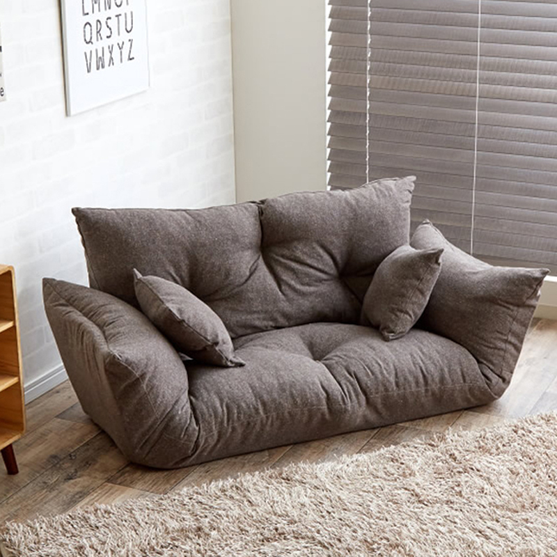 Modern Folding Sofa Bed Adjustable Arm Reclining Back Living Room Furniture  Home Double Sofa Couch 2 Seat Living Sofa Lounge In Living Room Sofas From  ... Awesome Ideas