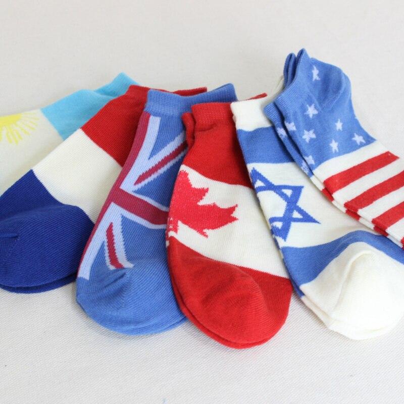 New Cotton classic brand man socks Flag Fitted socks meias mens socks spring calcetines