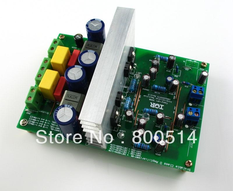 Собранные L15DX2 IRS2092 усилитель класса D IRAUDAMP7S 125 Вт-500 Вт